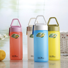 Harold in accordance with the can of corn cup portable ring Ms. Male sports bottle glass cup space cup high-capacity students