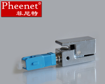 Pheenet Finit SC Square single multimode bare fiber adapter Cable test Adapter