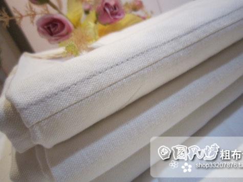 白いシーツ手作りの白い純綿の厚いシーツと太い布のダブル綿の純白シーツの単品の純色