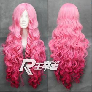 Wa духовные мастера атласные розовые парик косплей парик Утойя нет Принц-сама - Луна Ринго