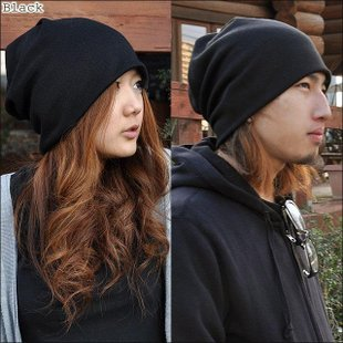Korean version of the new winter influx of men and piles of hat caps headgear headscarf head scarf hat cap cap month of pregnant women