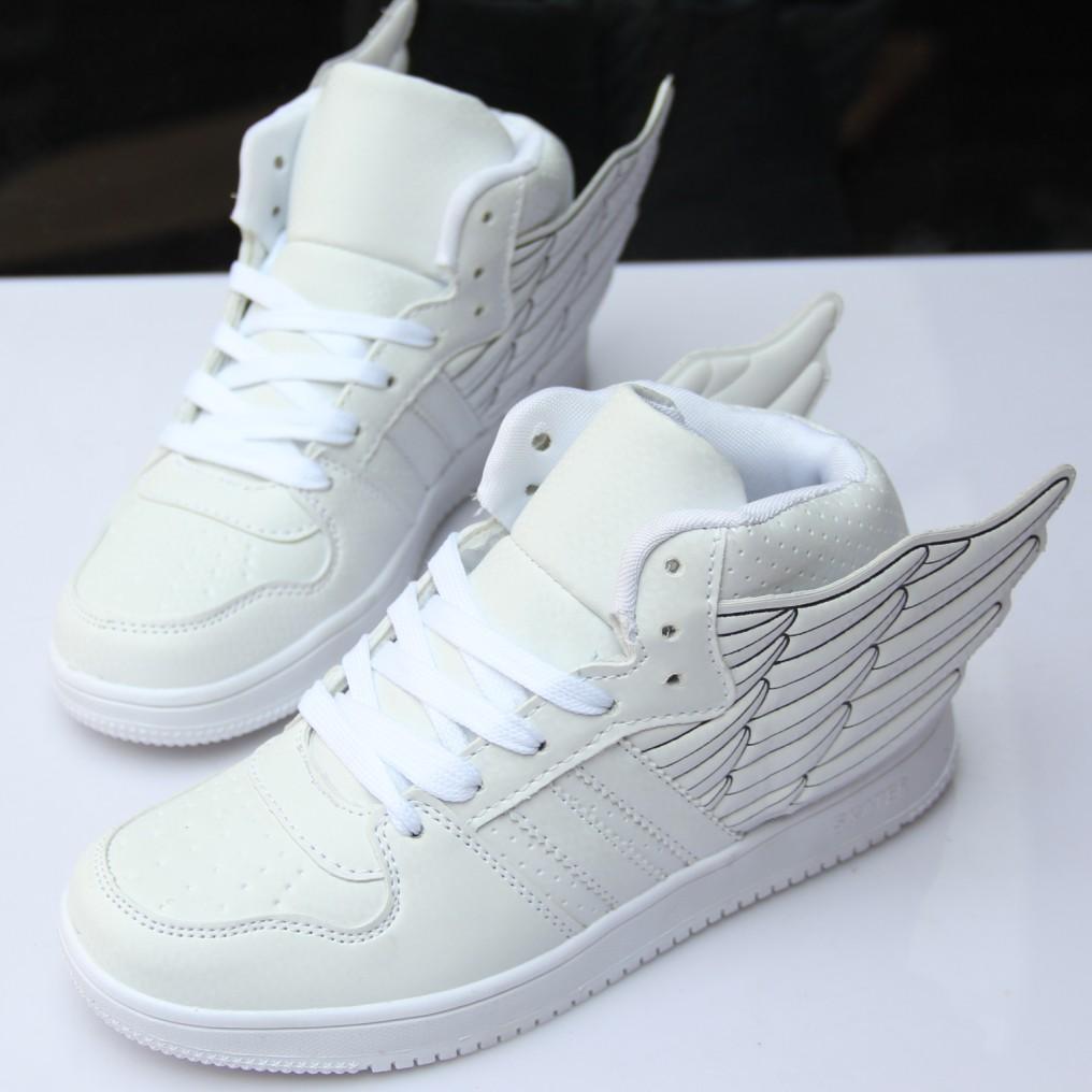Весна/лето 2014 новые крылья ботинки женщин, танцы хип-хоп танца обувь Корейский тенденции спортивная обувь обуви высокой помощь обувь мешок почты