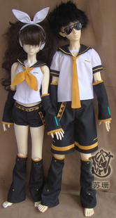 bjd baby doll clothes Kagamine Twins cos