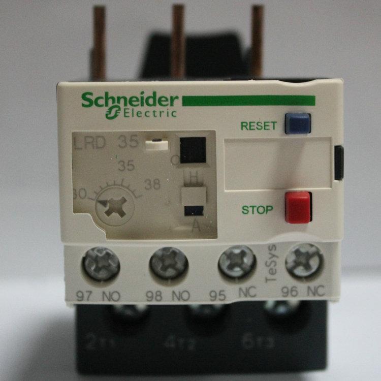 施耐德热过载继电器LRD32C  LR-D32C 整定电流23-32A
