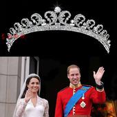 凯特公主同款新娘皇冠大号 水钻头饰婚纱配饰 结婚发饰 影楼造型