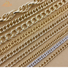 Jewelry accessories KC gold chain jewelry chain wrap chain metal chain wrap belt decoration waist chain on the shelf