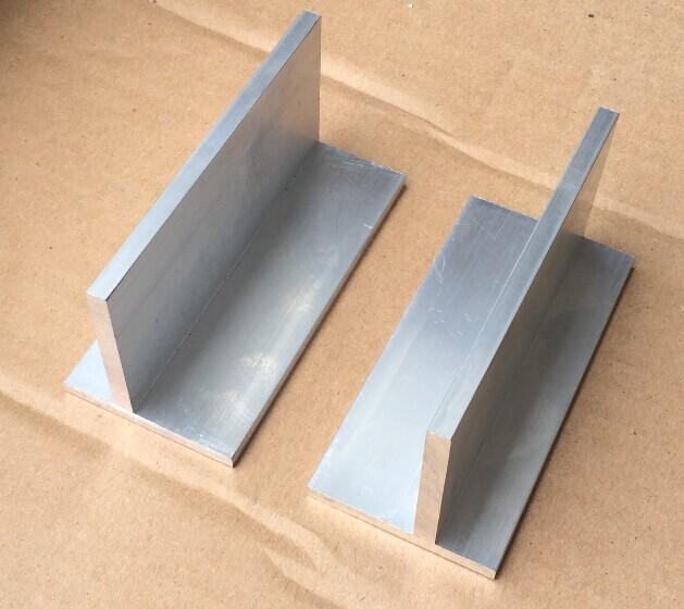 T тип руководство горячей угол алюминий длина 95 миллиметр ( цена за пару )