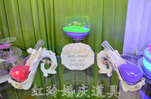 Fortunately the wedding ceremony vow quicksand Block sand bottle wedding props wholesale Hongling new props