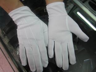 High grade band ceremonial jewelry with white gloves on duty can not ball no deformation can be washed individually packed with master of ceremonies