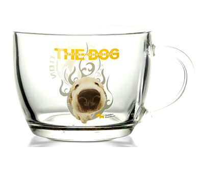 Thedog big head dog, Ma Kemeng dog, glass, flower tea cup, office cup, Labrador golden retriever, miglu