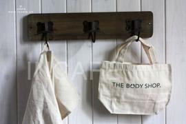 INCAFE 简单棉布小拎包购物小包零钱包购物袋小布包肩带