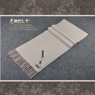 Gift Box RGLT authentic Japanese atmosphere of pure cashmere men s business casual elegant herringbone cashmere scarf