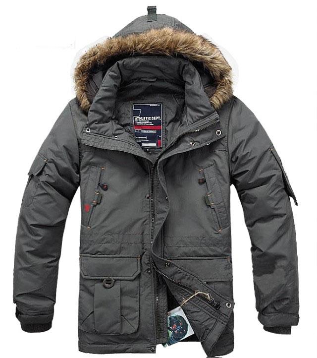 Подлинное Rhino Ecko среднего Мужская пуховик, мужские зимние пальто утолщенные 2014 новый
