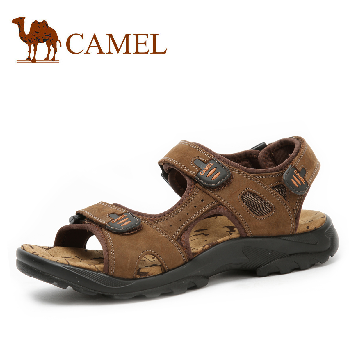 Mens Camel Leather Shoes