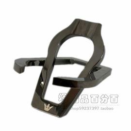 英国皇冠ROYAL CROW不锈钢折叠斗架,烟斗金属烟斗架 金属黑