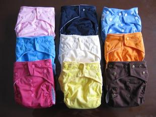 Nano antibacterial baby diaper baby cloth diapers pocket diapers diapers pants diaper breathable barrier