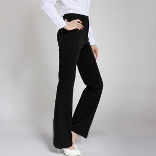 2016 spring new women straight jeans Slim Korean female trousers work wear long pants suit pants