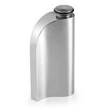 Troika德国原装进口人体工程学无缝小酒壶不锈钢随身户外男士礼品