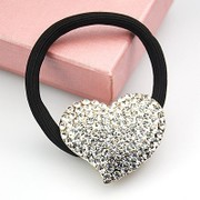 B012 Korean rhinestones tiara hair accessories hair band beautiful hearts full bit Bazaar