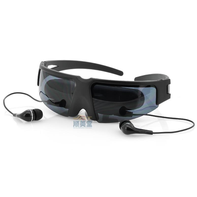 特价 视频眼镜52寸AV IN移动眼镜影院视频眼镜视屏眼镜头戴式显示