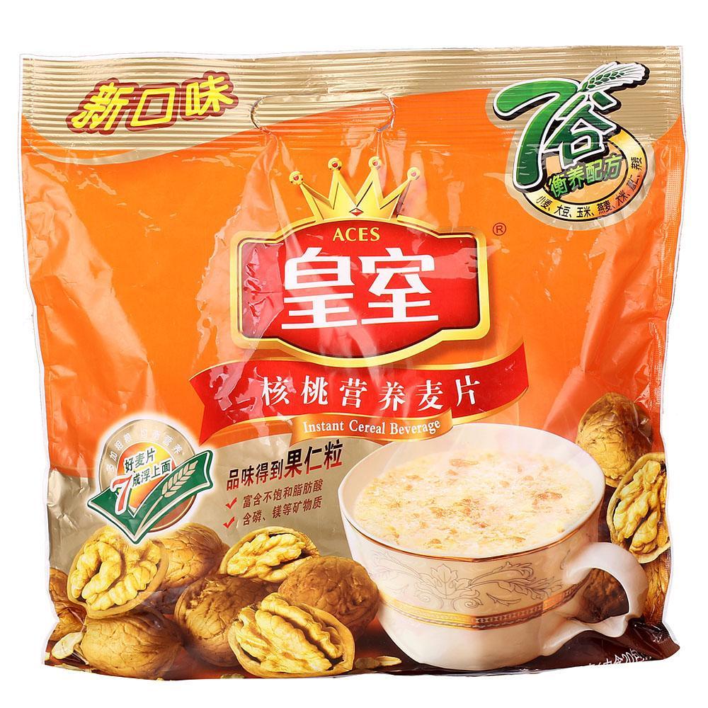 ~天貓超市~皇室 核桃營養麥片600克 穀物早餐麥片 營養即溶