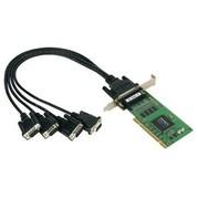 现货 MOXA 摩莎 CP-104UL 4口RS-232 PCI多串口卡,原装正品行货