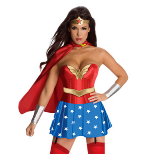 European and American game uniform female Superman costume magical female Xia Halloween role play Party Costume