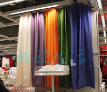 Ikea Mr Le than the shower curtain waterproof mouldproof shower curtain 12.9 polychromatic colour curtain