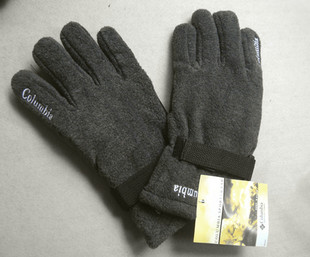 Columbia Men's Gloves trade outdoor sports warm windproof ski stars means a thick fleece Gloves