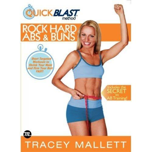 Существует кислород фитнес Tracey Mallett Rock Hard Abs Buns живот бедро