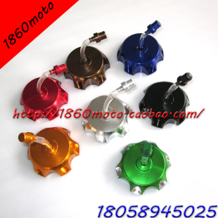 Mini Motocross ATV Tuning Parts aluminum fuel tank cap color send breather cap GC02