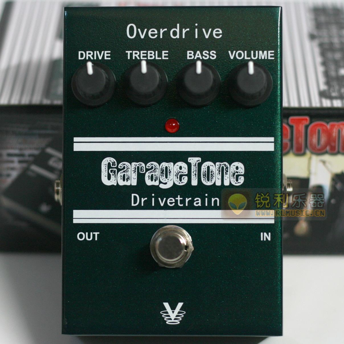 【Visual Sound GarageTone Drivetrain】过载效果器【锐利乐器】
