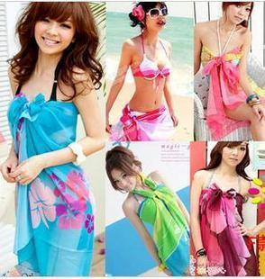 Chiffon beach towel mantillas Shu Timmia color optional oh variety of colors can be a veil