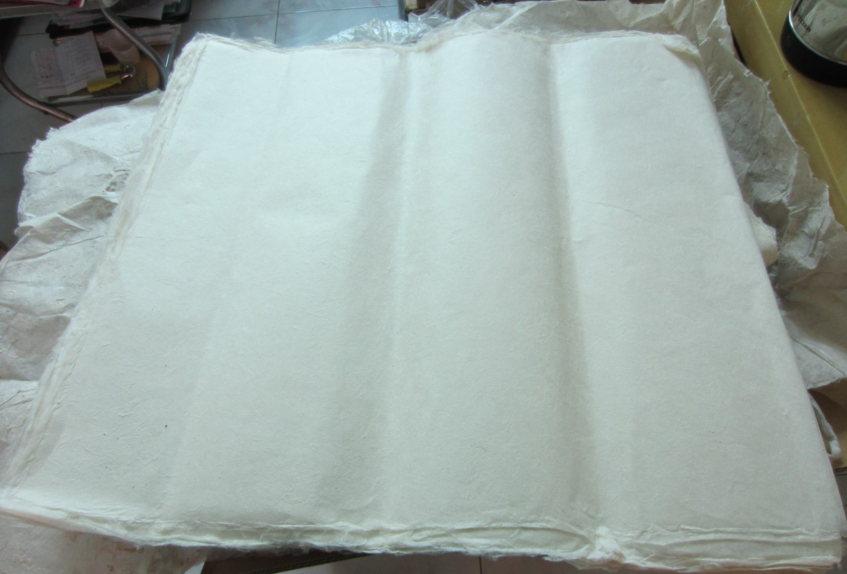Юньнань навсегда мораль Dai гонка ручной работы ручной работы хлопок бумага круто 69times65 см толщиной примерно 03 миллиметр