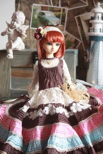Spot endless baby clothing forest wind bjd sd as ae luts girl dress and other available