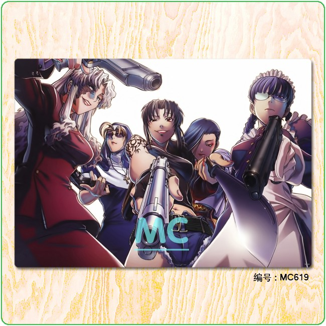 MC X / Black reef newspaper collection / Russian three stringed instrument / Cloth Poster decoration picture core