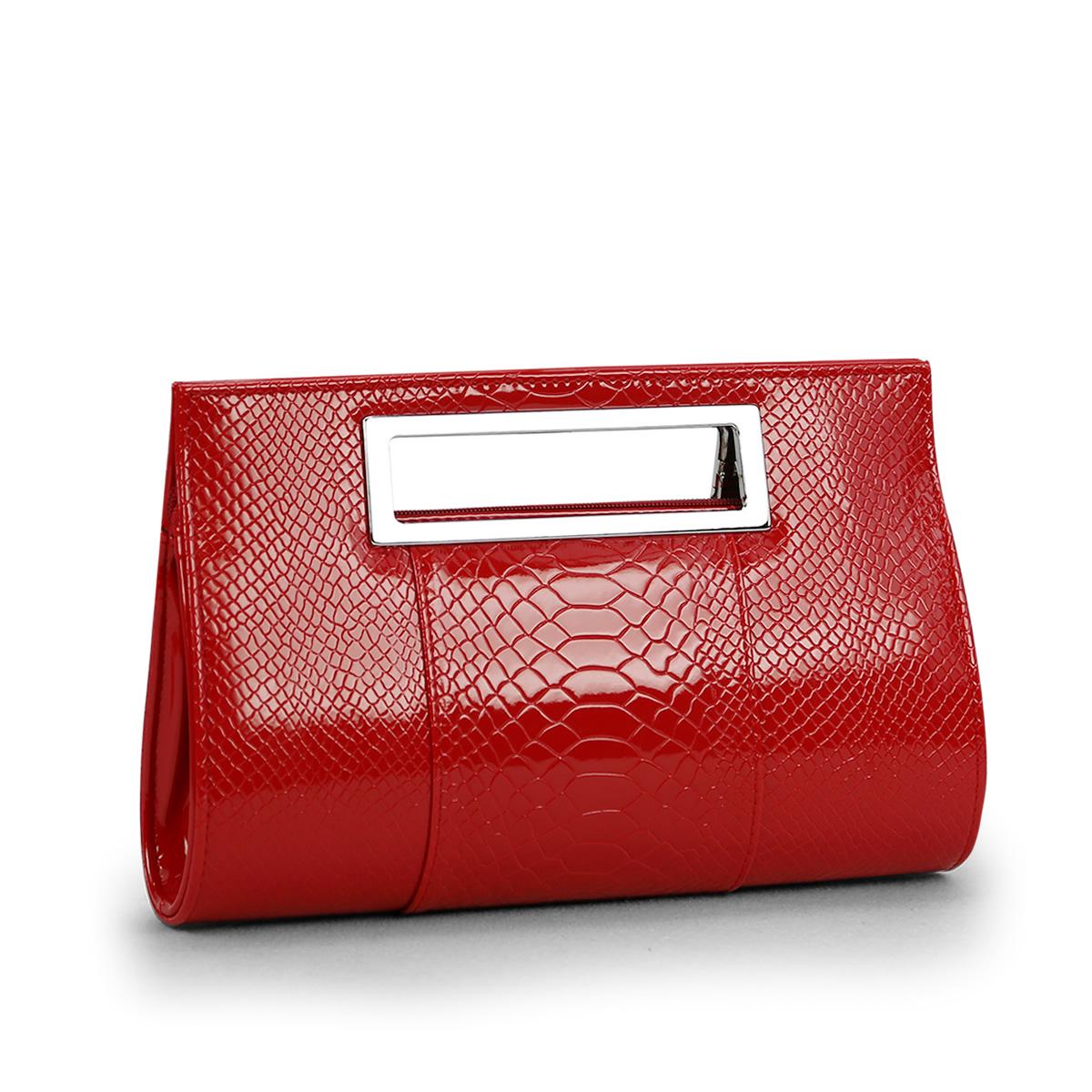 ファッション的な淑女のバッグ2020光沢のあるクロコダイルの模様のpu皮の手はバッグの片肩側のリュックサックを持って斜めに小さい袋にまたがります。