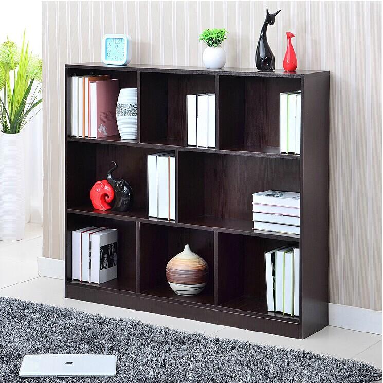 旭儷通包郵書櫃書架自由 簡易展示架兒童儲物櫃簡約收納置物架