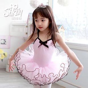 Тысяча девяносто два корейских детей хлопка Ивон Кели танец балетная пачка юбка подтяжки одежду и костюмы
