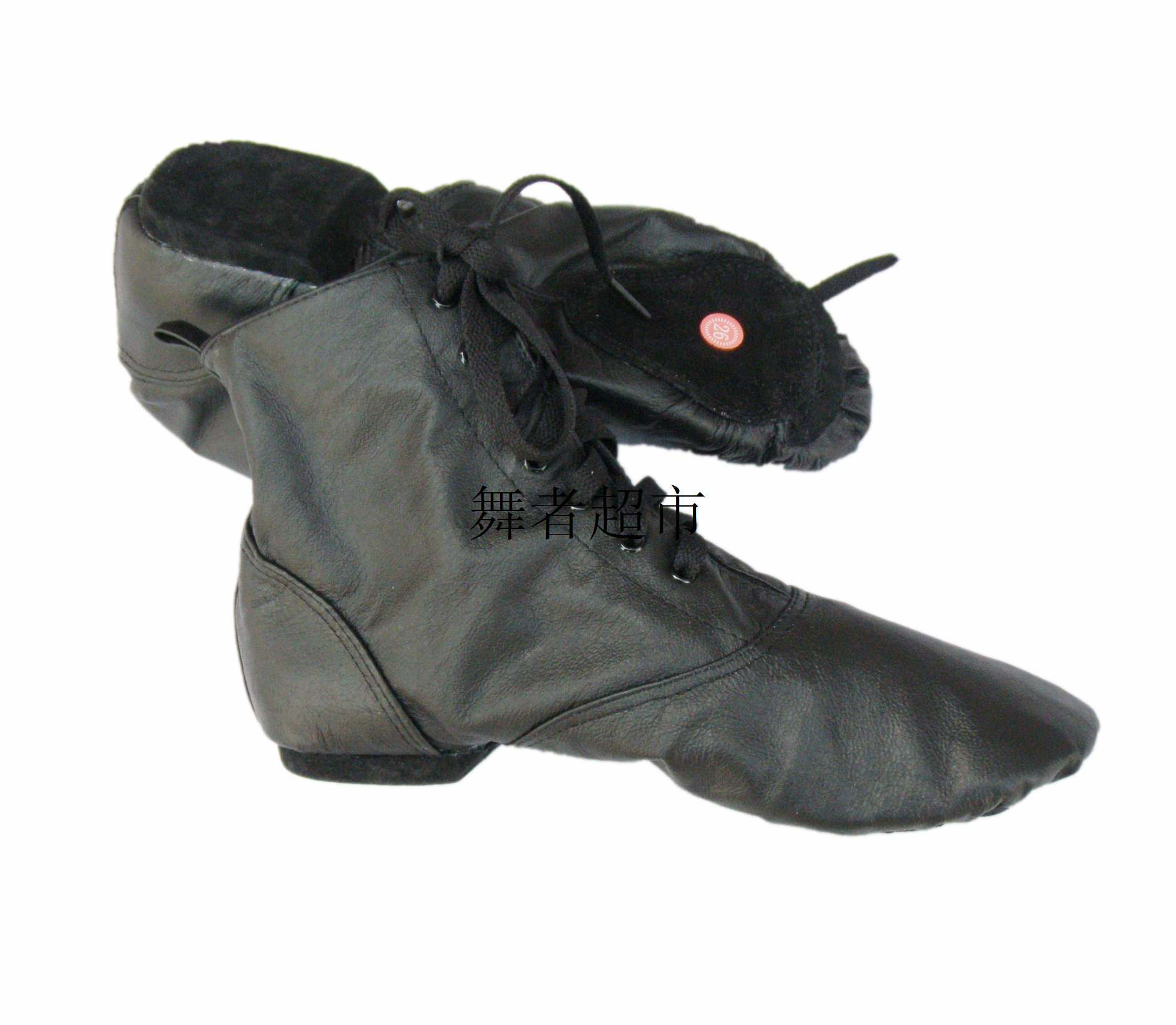Мужской и женщины свиная кожа поверхность сэр обувной два конец на низком кабгалстук-бабочкае сэр ботинок высокий мягкое дно практика гонг производительность танец обувной