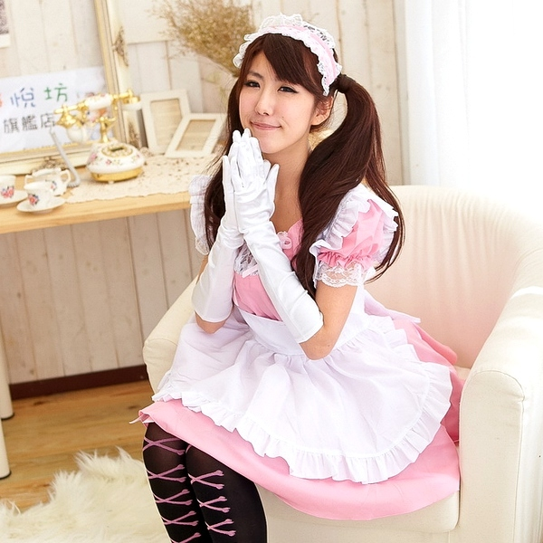 Japanese anime cos Maid costumes cosplay maid cafe waiter working clothes  lolita dress princess dresszyovulsmpkm from English Agent BuyChina.com 88b383d51