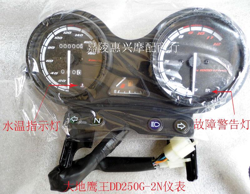 Электронной почты мотоцикл инструмент Regal Raptor инструмент DD250G-2N топливных датчиков, Пробег, км колеи