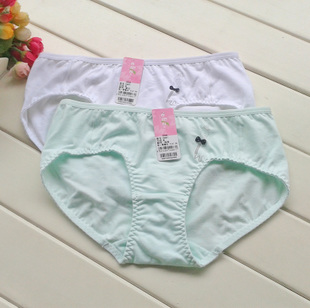 Yilan Fen genuine students cute cartoon underwear high waist briefs comfortable and breathable cotton underwear girl