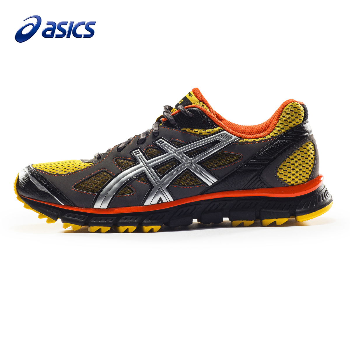 promo code 72913 5f888 Getting professional ASICS running shoes trail runners multicolor GEL-SCRAM  male and female models T2J1N