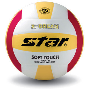 Lynx Mall STAR World of professional wear soft PU adhesive volleyball volleyball on the 5th manual VB425 34