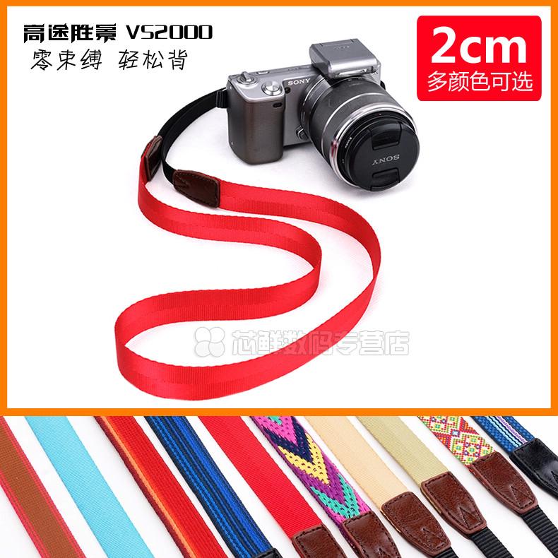 Камера ремень цифровой камера слегка один a6000/RX100M5 канон nikon литература и искусство ретро хорошо узкий ремень