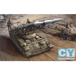 CY model shop Trumpeter Model 1 35 Russian anti aircraft missiles Sam 6 00361