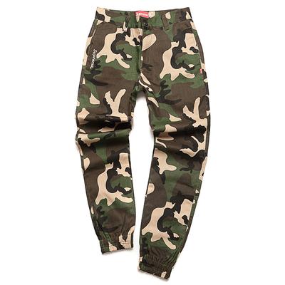 Уличная мода высший Шон бег трусцой брюки камуфляж луч брюки брюки термоусадочные общие брюки брюки случайных брюки мужчин