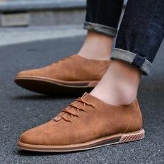布洛克潮男休闲皮鞋英伦风复古朋克尖头皮鞋帅气商务WC-L302 P88 服装城北区ND1501