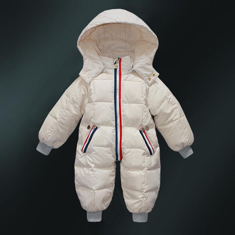 Ребенок куртка ребенок пальто ребенок утолщённый наряд ползунки одежда мальчиков и девочек, белый гусь сиамский куртка